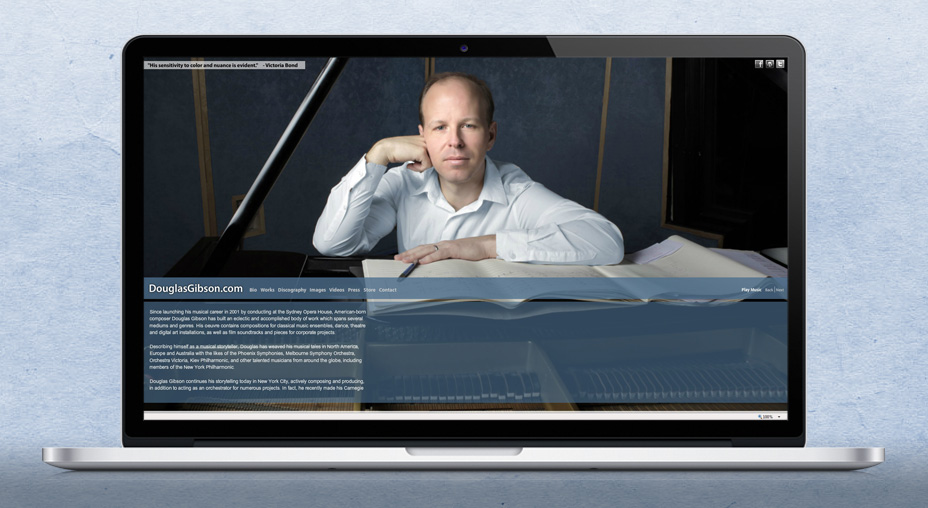 Douglas Gibson - Personal Branding and Website Design