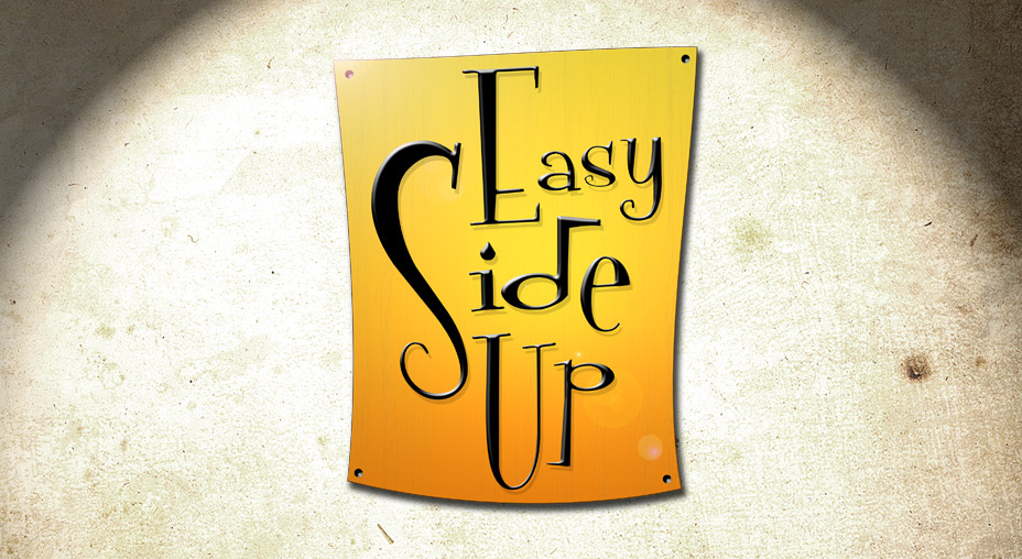 Easy Side Up Logo - Brand Identity