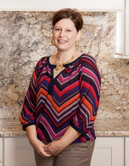 Kelly Lehr, Co-Owner of Nonn's Design Showplace
