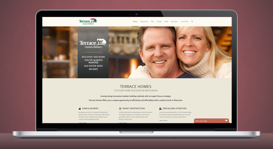 Terrace Homes - Website Design