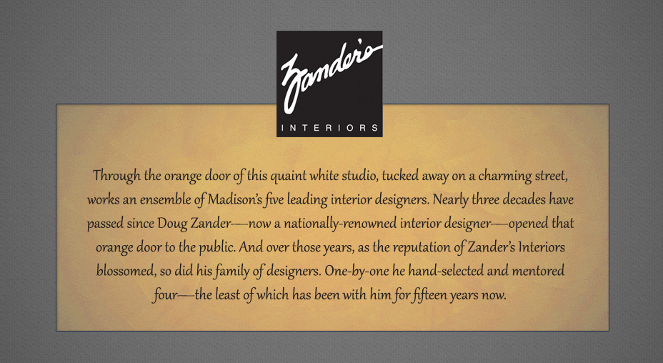 Zander's Interiors - Brand Messaging, Part 1