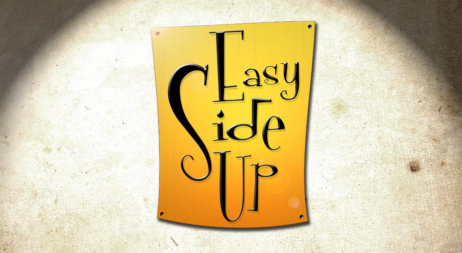 Easy Side Up Logo - Brand Identity