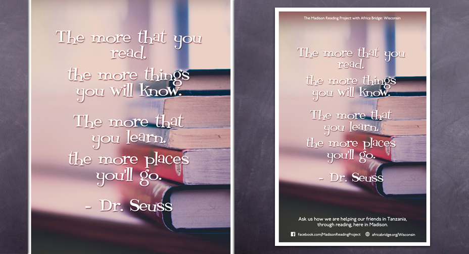 Madison Reading Project - Poster Design