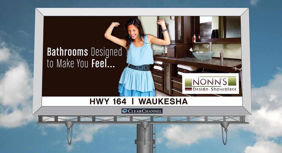 Nonn's Design Showplace - Billboard Advertising
