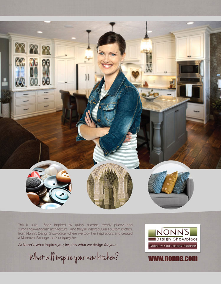 Julia's Inspirations - Nonn's Print Advertising