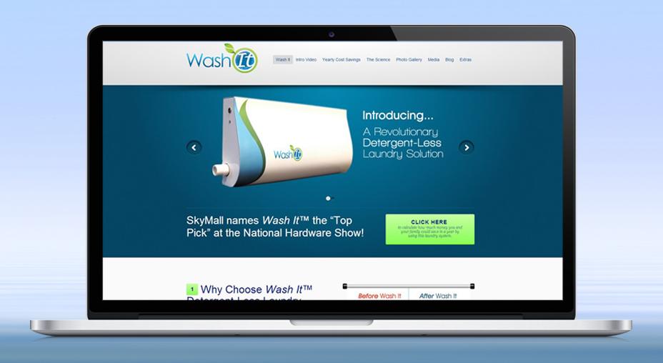 Wash It - Website Design