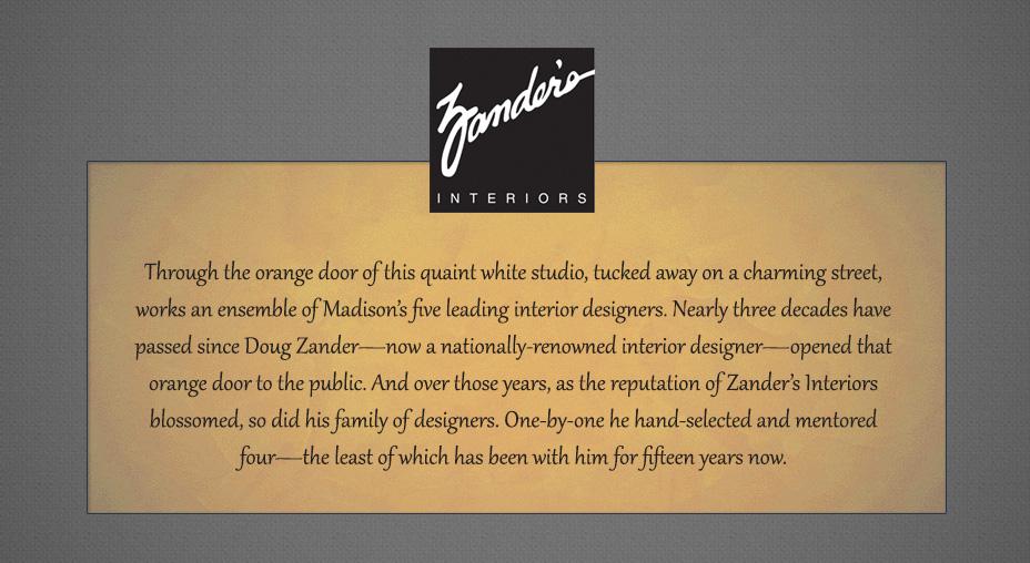 Zander's Interiors - Brand Messaging, Part 1