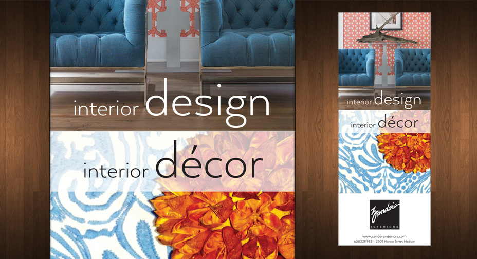 Zander's Interiors - Print Advertising